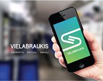 "Multimedia project ""Vielabraukis"""