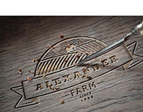 logo: Alexander farm