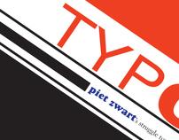 Typotekt - Piet Zwart Magazine Spread