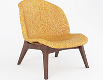 Opusti - Rattan Easy Chair