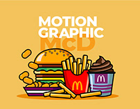 McDonalds Sponsor, Motion Graphics
