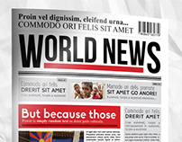 World News 12 Pages Newsletter