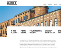 The Mill - Website Mockup