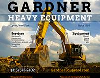 Gardner Heavy Equipment web site