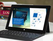 Windows 8 RT Controls Presentation App