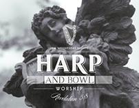 Harp & Bowl Poster Design