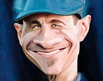mick taras caricature