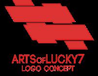 ArtsofLucky7 Logo Concept | by Ember
