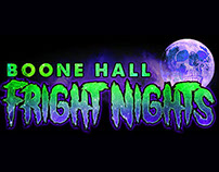 Boone Hall Fright Nights Logo Set