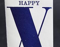 Happy X-mas card