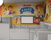 Ülker Golf Kidzmondo small factory design