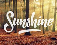 'Sunshine' Typo