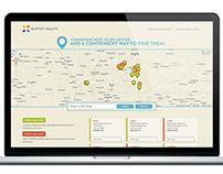 Baptist Health Clinics Website