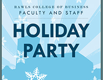Rawls Holiday Party Invitation