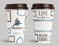 Caribou Coffee To-Go Cups