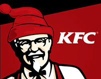 concept kfc with hat