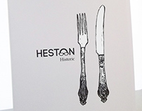 Heston Blumenthal Book Covers