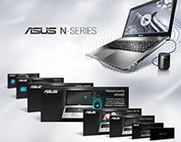 ASUS N Series – product launch and online promotion.