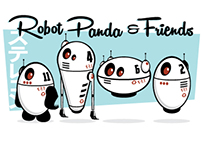 Robot Panda & Friends