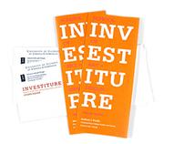 2012 / Invitation for investiture