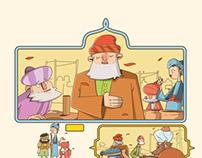 comic for basim magazin