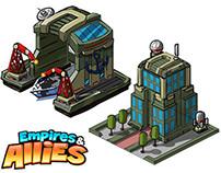 Zynga Empires & Allies Concept Art