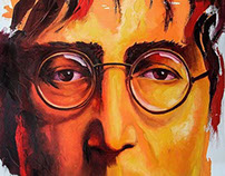 LENNON - Oil Painting