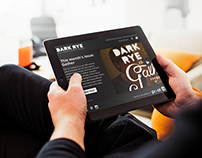 Dark Rye New Issue Responsive Templates