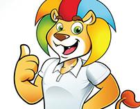 Mascote Leão