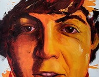 McCartney - Oil Painting