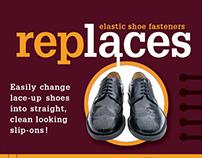 Replaces : Elastic Shoe Fasteners
