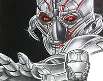 Ultron & Iron Man