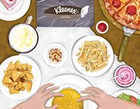 Kleenex Mansize Tissue Ad