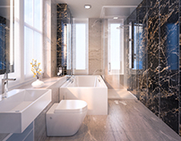 Master Bathroom - 3D Visualisation
