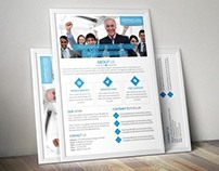 Unic & Clean Business Flyer (Free Download)