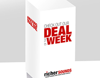 Deal Of The Week POS Stand