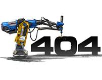 Atlant 404 page