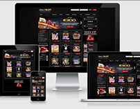 Responsive Casino Design and Build - Foundation/Sass