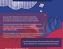 "Afiche: Convocatoria ""Ilustra tus Sueños"""