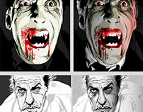 Christopher Lee & Vincent Price BDay