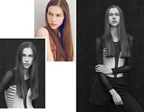 D'vision Model Management Agency - Ania's tests