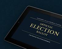 Election Ballot / iPad App