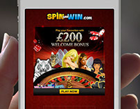 Responsive Casino Landing Page