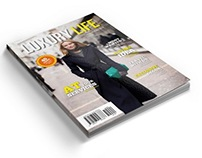 Luxury Life Magazine Template - 40 Pages