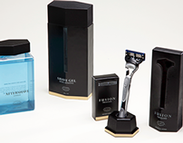 Gillette Rebrand/Packaging