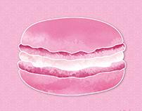 Ilustración Macarons