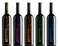 Typographic Wine Label Design