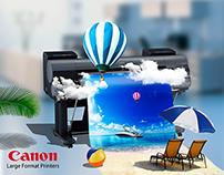 Canon advertising