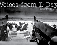Voices from D-Day: June 6,1944