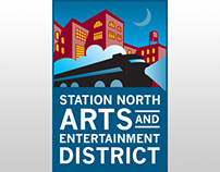 Station North Arts District Branding